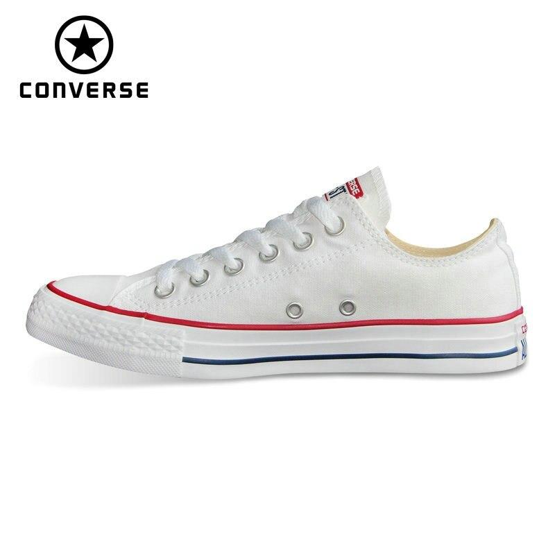 2018 CONVERSE origina все стильная обувь Новый Chuck Taylor uninex классические кроссовки мужские и женские Скейтбординг обувь 101000