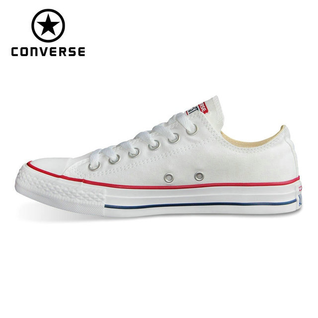 9b38c9700a5d 2018 CONVERSE origina all star shoes new Chuck Taylor uninex classic  sneakers man s and woman s Skateboarding Shoes 101000-in Skateboarding from  Sports ...