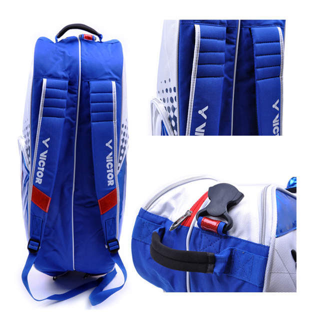 High Quality Victor Badminton Racket Bag Waterproof Men s Sports Bags  Single Shoulder Adult Tennis Training Backpack 4bf5363e0b05e