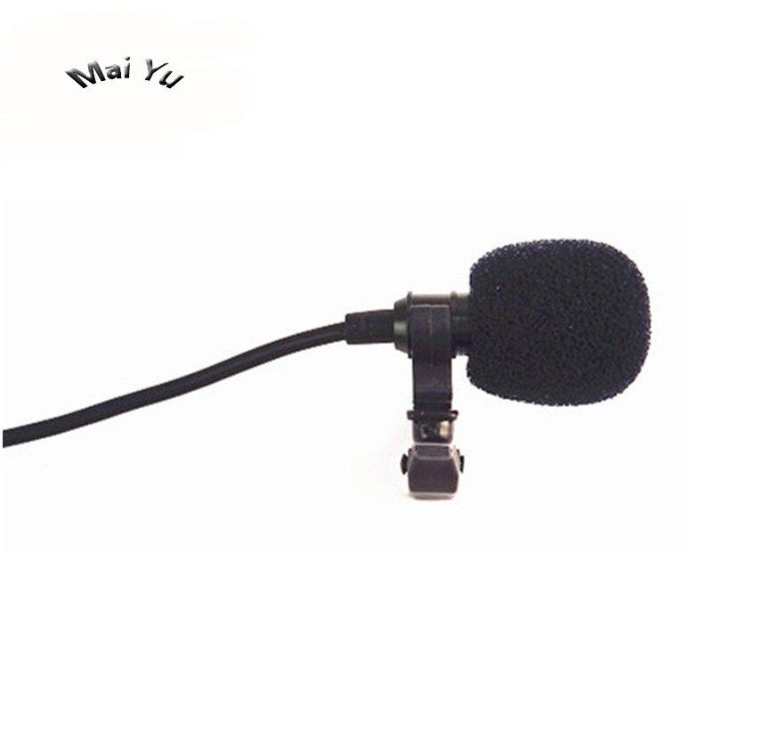 Original Lapel Computer Microphone Condenser Stereo Microfone Condensador for PC Amplifier 3.5mm Stereo Jack Selfie Stick