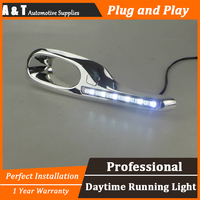 A T Car Styling For Honda FIT LED DRL For FIT High Brightness Guide LED DRL