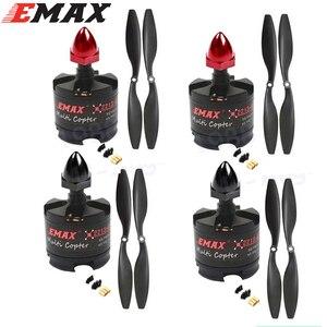 Image 3 - 4 セット/ロット emax 2212 MT2213 935KV ブラシレスモーター F450 F550 X525 multicopter quadcopter 1045 プロペラ