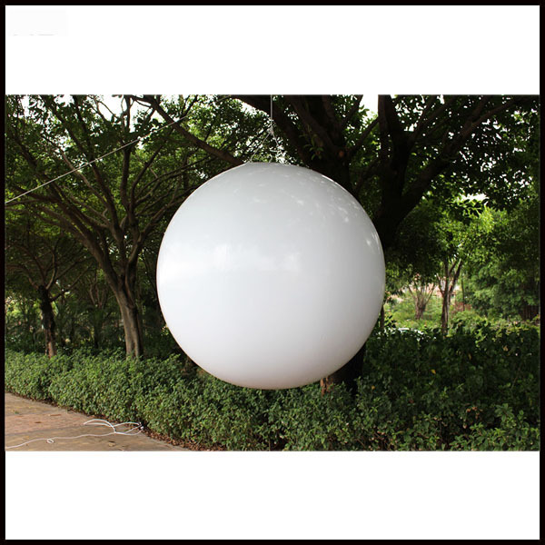 Free shipment 2m advertising PVC inflatable helium balloon
