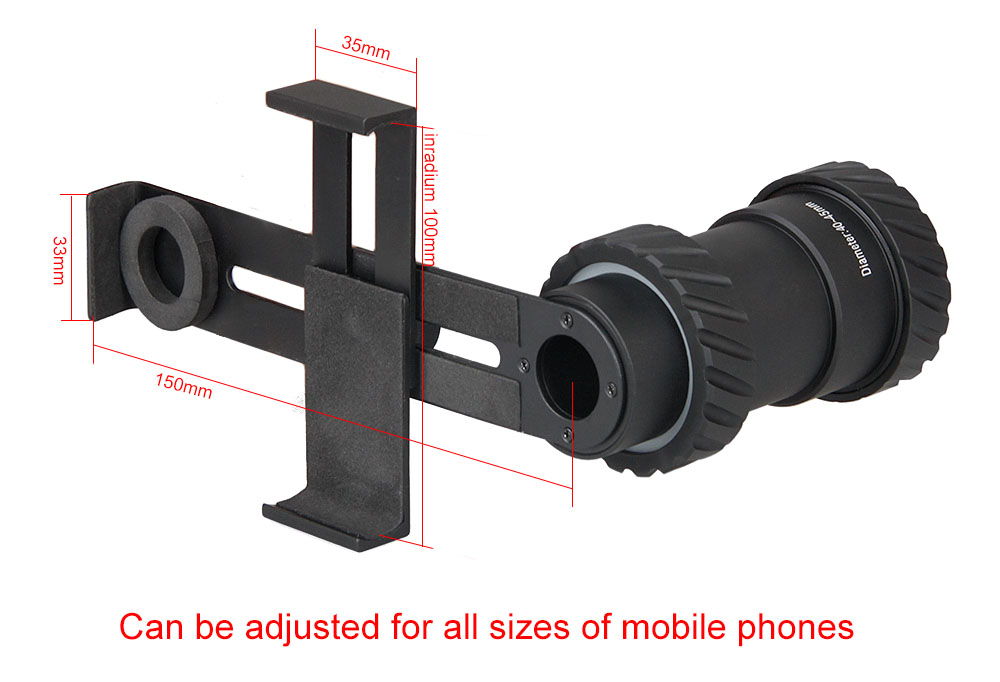 Ppt universal cell phone adapter mount cellphone rifle scope