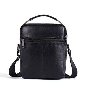 Image 2 - WESTAL erkek omuzdan askili çanta erkekler için hakiki deri çanta casual crossbody çanta üst kolu çanta küçük postacı çantası erkek 8211