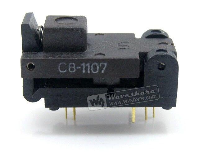 SOT6 SOT23 499-P44-00 Wells IC Test Burn-In Socket Programming Adapter 1.3-1.8mm Width 0.95mm Pitch