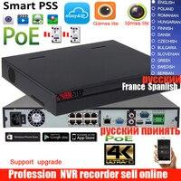 Оригинальная английская версия 4 К NVR 1U сети видео Регистраторы NVR4216 8P 4KS2 DH NVR4216 8P 4KS2 16ch nvr с 8 портов PoE