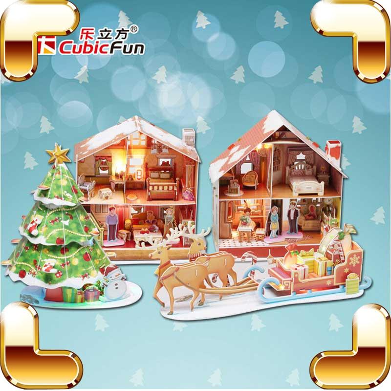 online kaufen gro handel weihnachtsbaum puzzle aus china. Black Bedroom Furniture Sets. Home Design Ideas