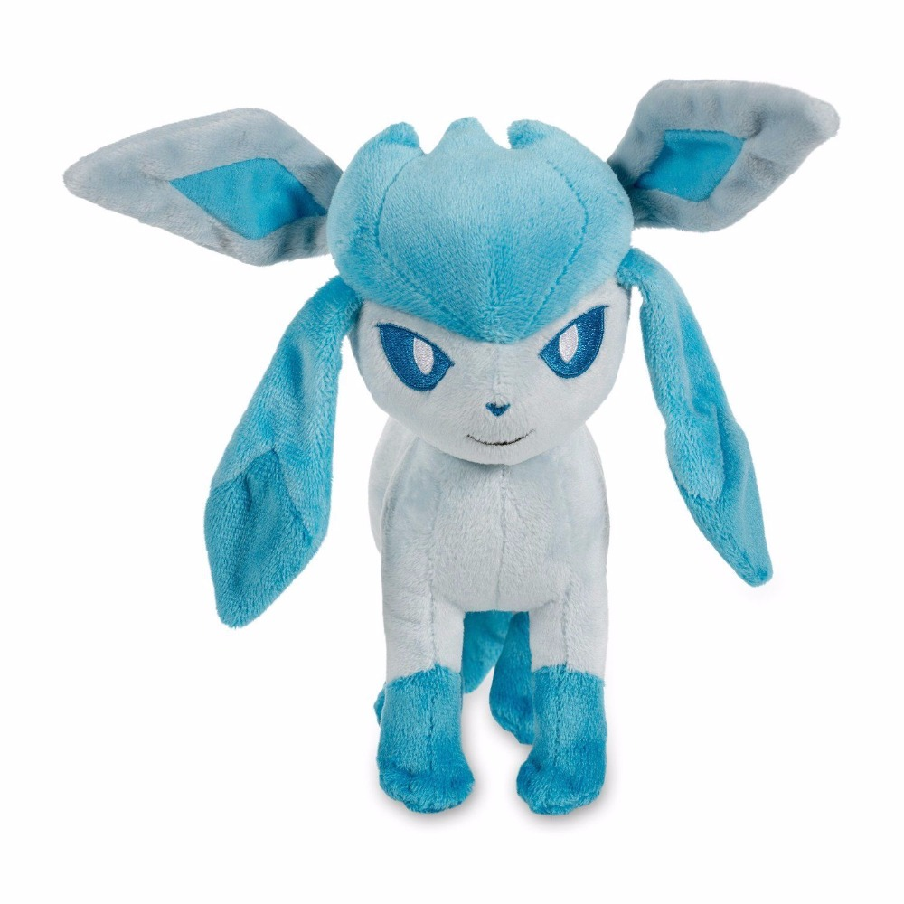 20cm New Eevee Plush Toys 9pcs Umbreon Eevee Espeon Jolteon Vaporeon Flareon Glaceon Leafeon Stuffed Animals doll