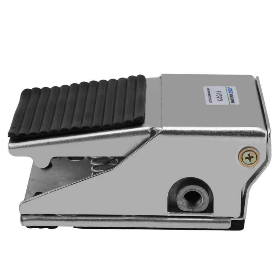 3 Way 2 pozycja pedał pneumatyczny zawór stóp naciśnij sterowania zawór G1/4 z gwintem powietrza pneumatyczne zawór pedał przełącznik valvula
