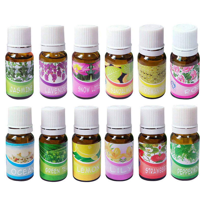 Brand New Water-soluble Oil Essential Oils for Aromatherapy Lavender Oil Humidifier Oil with 12 Kinds of Fragrance sandalwood lavender eye pillow perfect for meditation after yoga great for aromatherapy tranquility