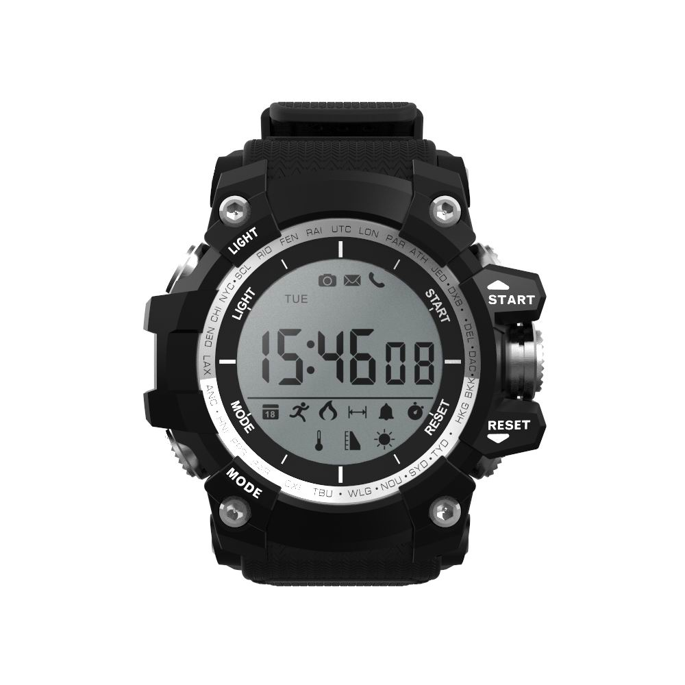 IP68 waterproof Reloj NO.1 F2 Smart Phone Watch Smartwatch Outdoor Mode Fitness Tracker Reminder 550mAh battery Wearable Device