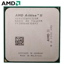 AMD Athlon II X3 450 cpu Разъем Am2 + AM3 95 W 3,2 GHz 938-pin трехъядерный настольный процессор cpu X3 450 Разъем Am2 + am3