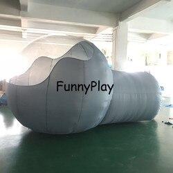 Nadmuchiwany namiot bańka namiot kempingowy hermetyczne dla rodzinnego podwórka reklama z pompą  kopuła gwiazda dom bańki