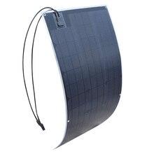 20 5V outdoor ETFE Flexible Solar Panel 100W Monocrystalline Solar Cell for Car Yacht Steamship 12V