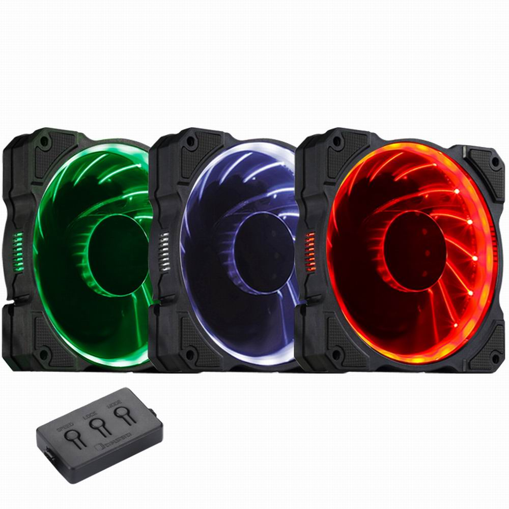 3 PCS Jonsbo 120mm FR-131 PC Case cooler CPU Fan Computer Cooling Fan Radiator Colorful RGB LED Light 6 pin SATA for Intel DIY estel крем краска 66 54 princess essex испанская коррида extra red 60 мл