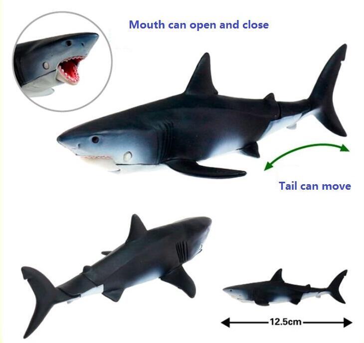 1Pcs Jaws Shark Mouth Can Open and Close Classic Toys For Boys Children Collection Animal Model harvard business review hbr using logical techniques to making better decisions