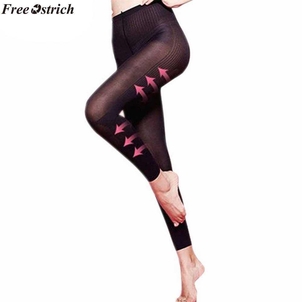 Бесплатная Страус 2019 Для женщин сна ног Shaper носки скульптуры сна ног Шорты для похудения гетры Для женщин формочек тела челнока