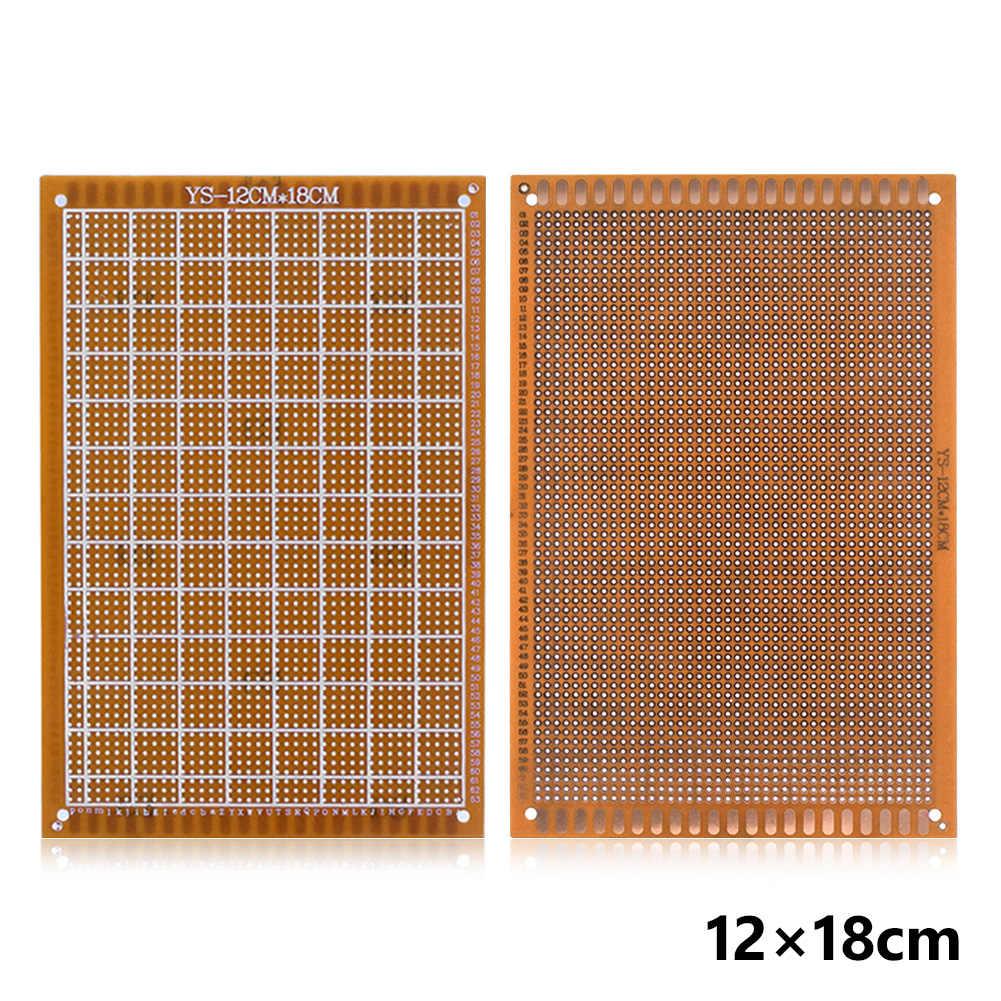 10 Buah Strip Circuit Board PCB 9X15 Cm Proto Papan Tempat Memotong Roti untuk DIY Uji Elektronik