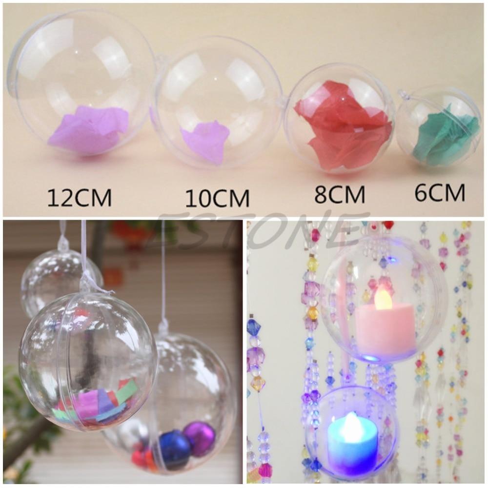 Clear plastic ornaments - Clear Plastic Ball Ornaments