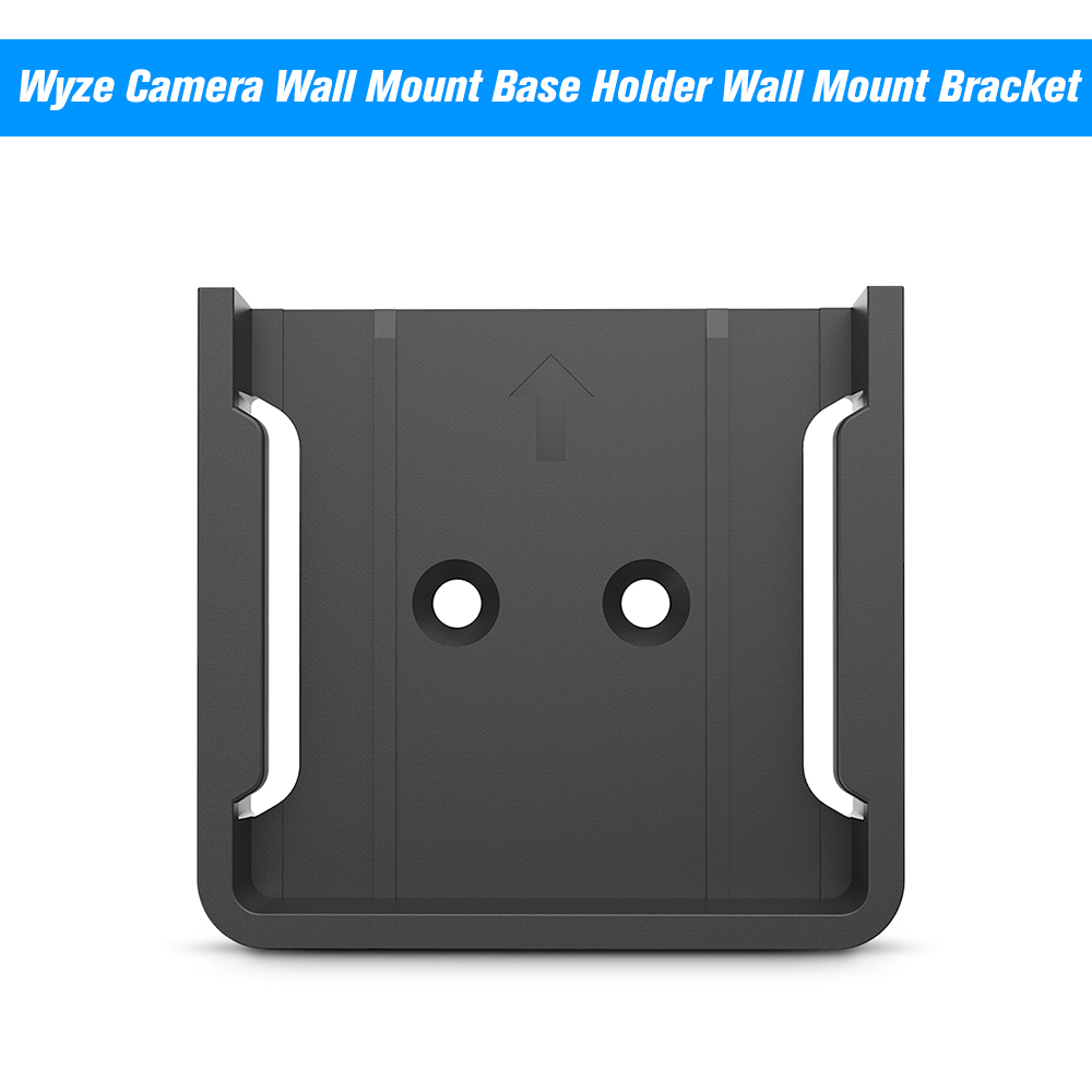 US $1 79 31% OFF|Wyze Camera Wall Mount Base Holder Wall Mount Bracket For  Wyze Cam Smart Camera and iSmart Alarm Spot Camera Protect From Drop-in