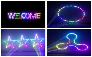 Image 5 - Projecteur Laser LED lumières de scène, Mini Flash automatique RGB activé par le son