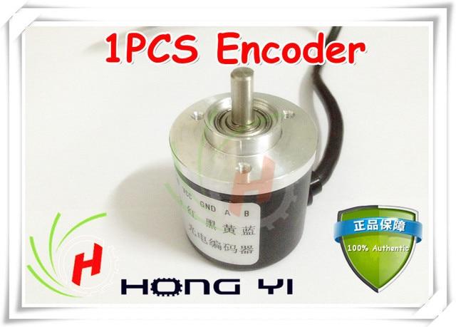 Top! 1 stücke Encoder 400 P/R Incremental optischen drehgeber 400 p/r AB phasengeber 6mm Welle für CNC