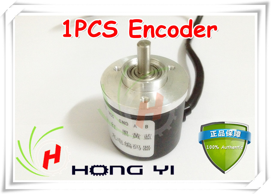 Encoder 600 P//R 5V-24V incremental Rotary AB 2 Phase 6 mm Arbre