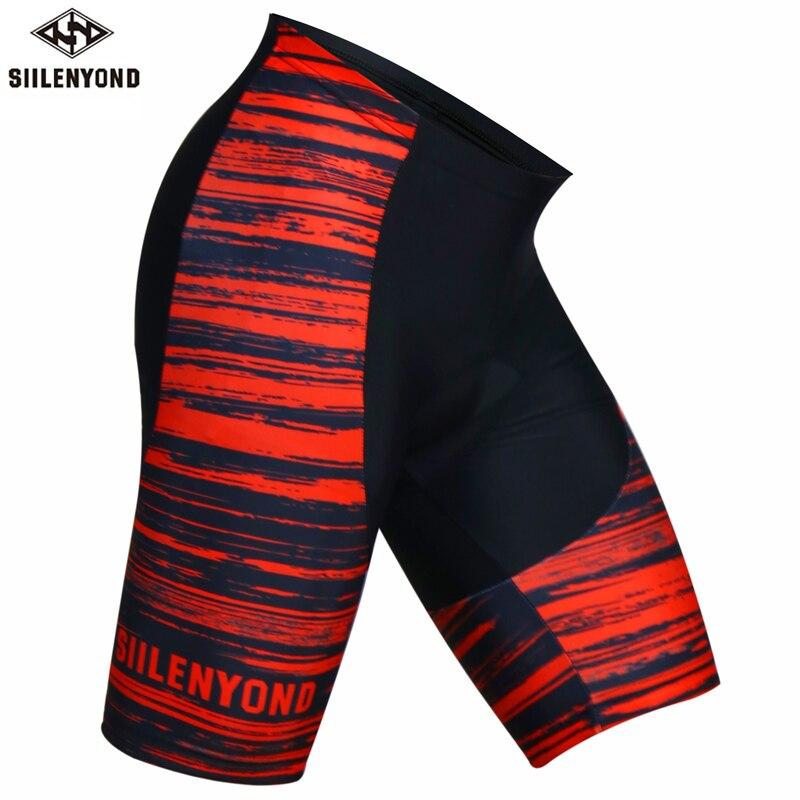 Siilenyond 2019 Pro Männer Radfahren Shorts Coolmax MTB Fahrrad Shorts Sommer Racing Rennrad Radfahren Engen Mit 3D Gel Padded