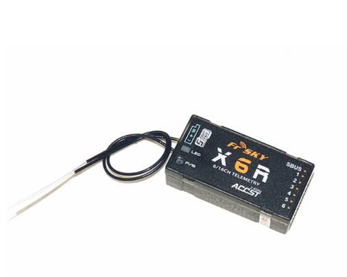FrSky X6R 6/16Ch S.BUS ACCST Telemetry Receiver W/Smart Port Taranis X9D/X9DPLUS, X10, X10S, QX7, X7SFrSky X6R 6/16Ch S.BUS ACCST Telemetry Receiver W/Smart Port Taranis X9D/X9DPLUS, X10, X10S, QX7, X7S