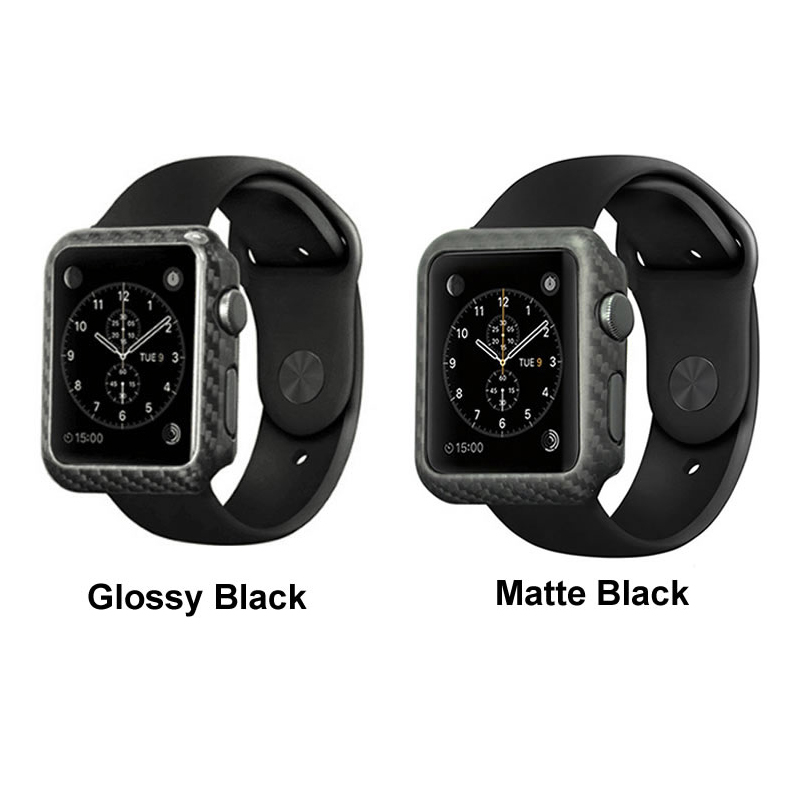 Carbon fiber case for apple series iwatch watch shell (7)