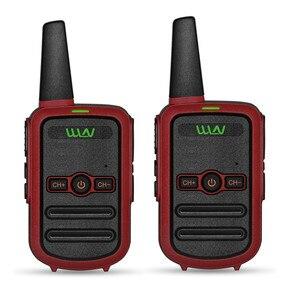 Image 3 - 2 sztuk WLN KD C52 MINI ręczny nadajnik fm KD C52 dwukierunkowe Radio szynka HF cb radio Walkie Talkie frs gmrs lepsze niż KD C51