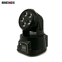 Fast Shipping LED Moving Head Mini Wash 5x18W RGBWA UV Good For Disco DJ Party Beam