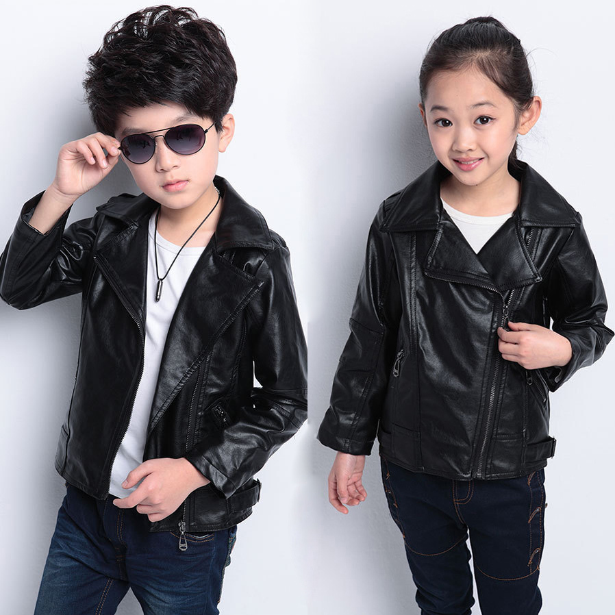 Leather jackets for kids - Faux Leather Jacket Baby