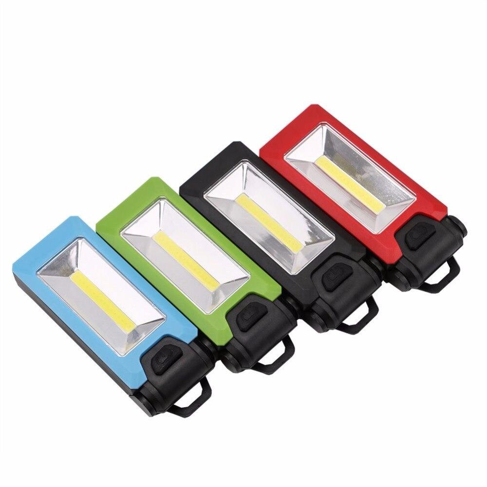 New Portable Magnetic Garage Car 30 7 Led Work Light Torch: 4*LED+COB Work Inspection Flashlight Handy Hook Magnetic