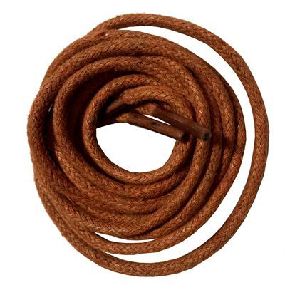 Unisex Round Waxed Shoelaces Oxford Dress Canvas Sneaker Shoe Laces Strings