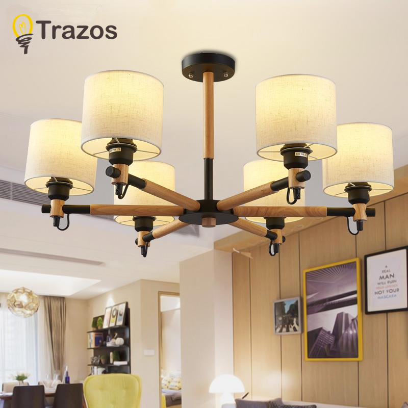 TRAZOS Modern LED Ceiling Chandelier Lighting Living Room Bedroom Chandeliers Creative Home Lighting Fixtures Free Shipping free shipping best selling living room led ceiling light 200mm dia led chandelier