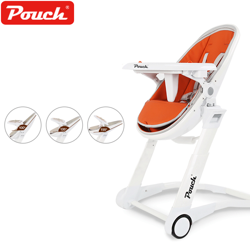 Pouch multi-functional children's dining chair portable folding baby eating seat baby dining chair