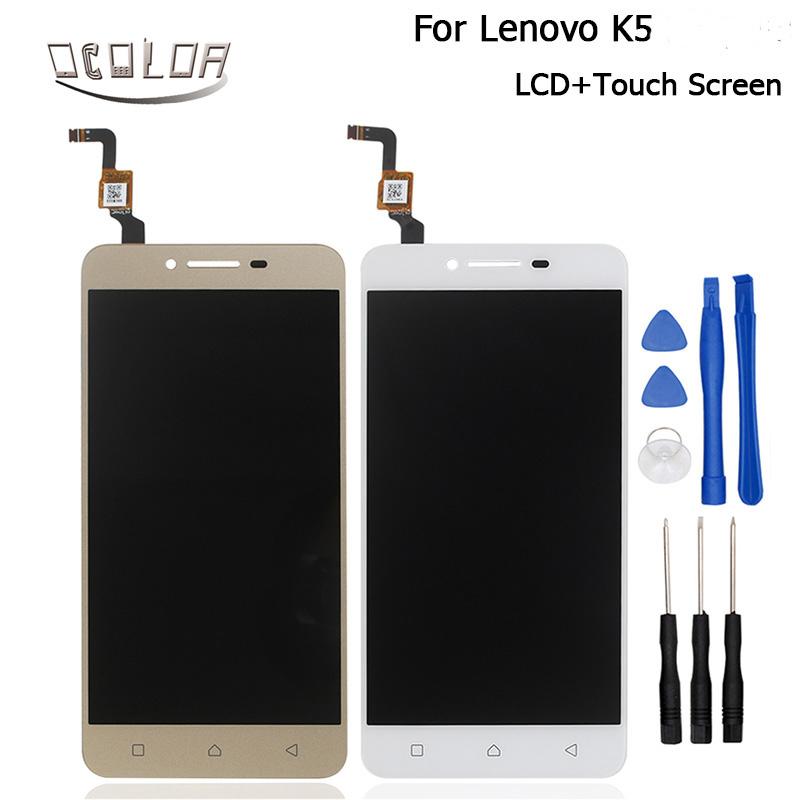 Prix pour Pour Lenovo K5 A6020 A40 Écran LCD Display + Écran Tactile D'origine Digitizer Assemblée Remplacement Pour Lenovo K5 Téléphone