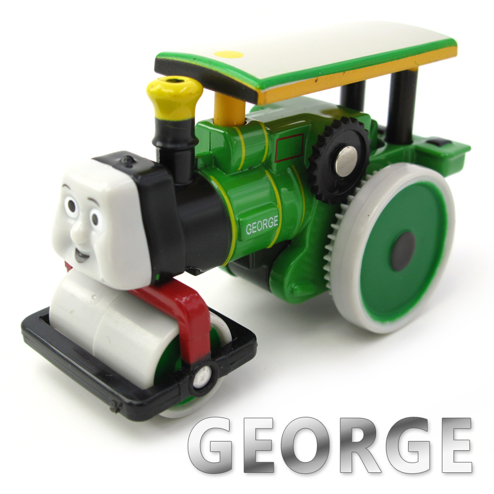 Diecasts Vehicles Thomas T061D GEORGE Thomas And Friends Magnetic Tomas Truck Car Locomotive Engine Railway Train Toys for Boys