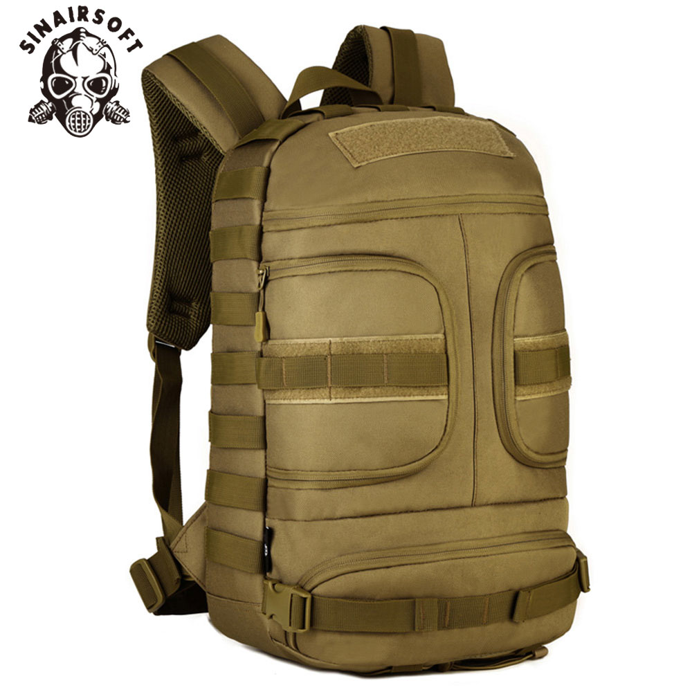 38a8a7b9b970 MILRESCUER 25L Tactical Backpack 15 Inches laptop Cordura Military Rucksack  Portable USB Interface Sport Camping Hiking Fishing