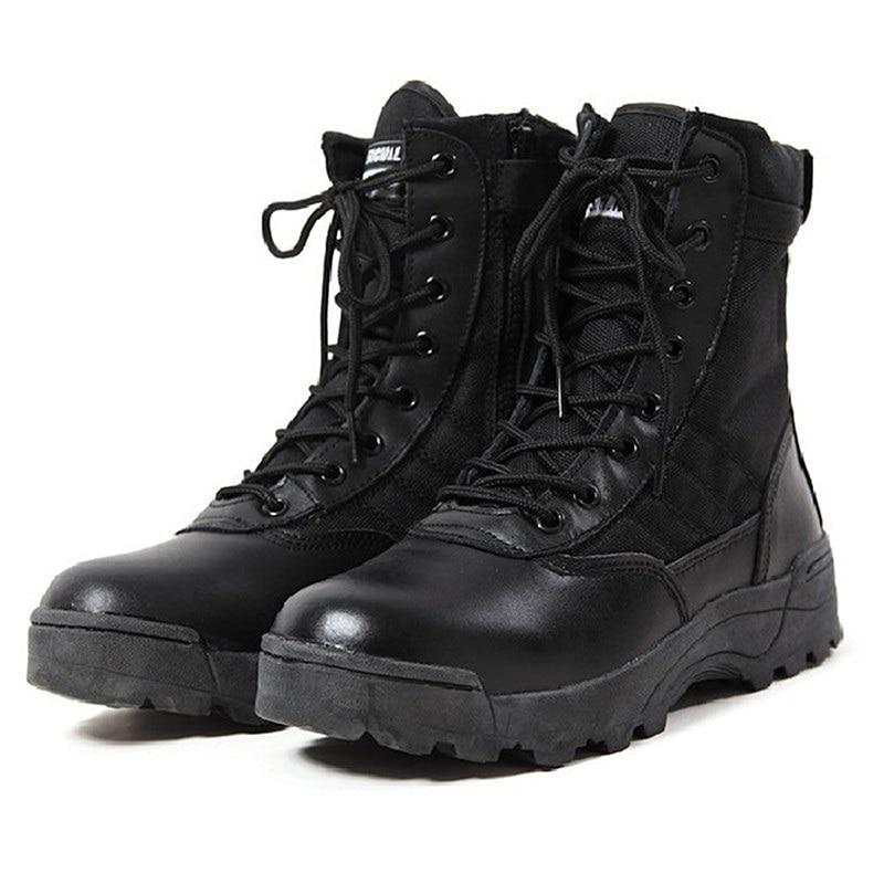 Bottes Desert À D'hiver Combat Tactique Air Militaire Mâle Lacets Chaussures Pour Hommes En Désert L'armée Cheville black Homme Chaussure De Plein qBx1dzHwE