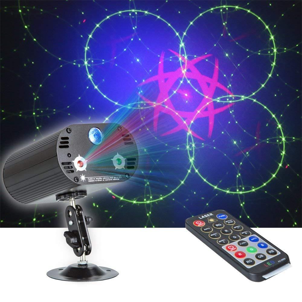 RGB Stade Light Party Laser Lumière 36 Motif Laser Projecteur Led Coloré DJ Musique De Noël Disco Light Show De Danse DJ club Bar