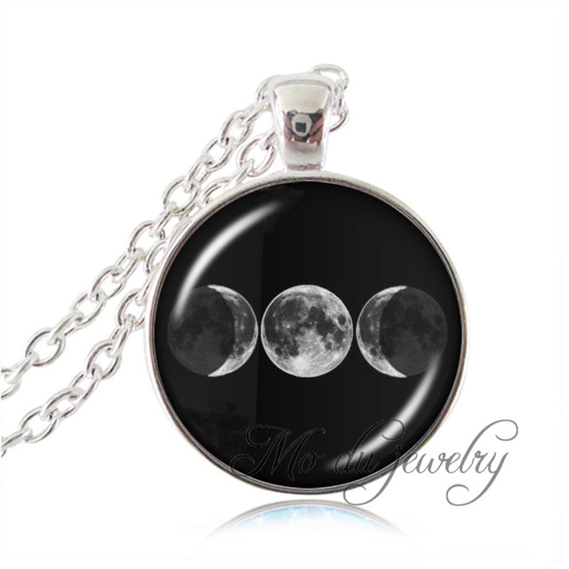 New arrival triple goddess pendanttriple moon goddess necklace new arrival triple goddess pendanttriple moon goddess necklacetriple moon jewelry wiccan necklace aloadofball Image collections