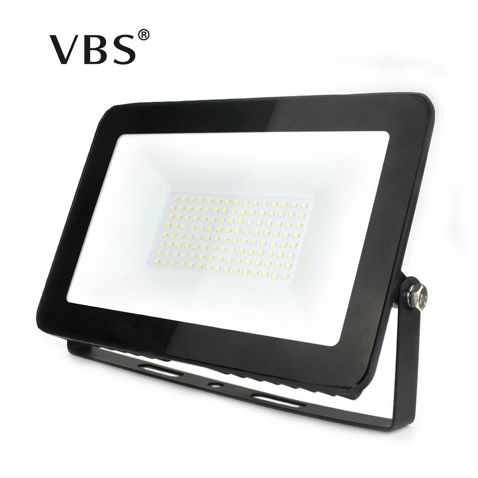 LED Floodlight 150W 100W 50W 30W 10W Ultra Thin Led Flood Light Spotlight Outdoor 220V IP66 Outdoor Wall Lamp Flood Light Led