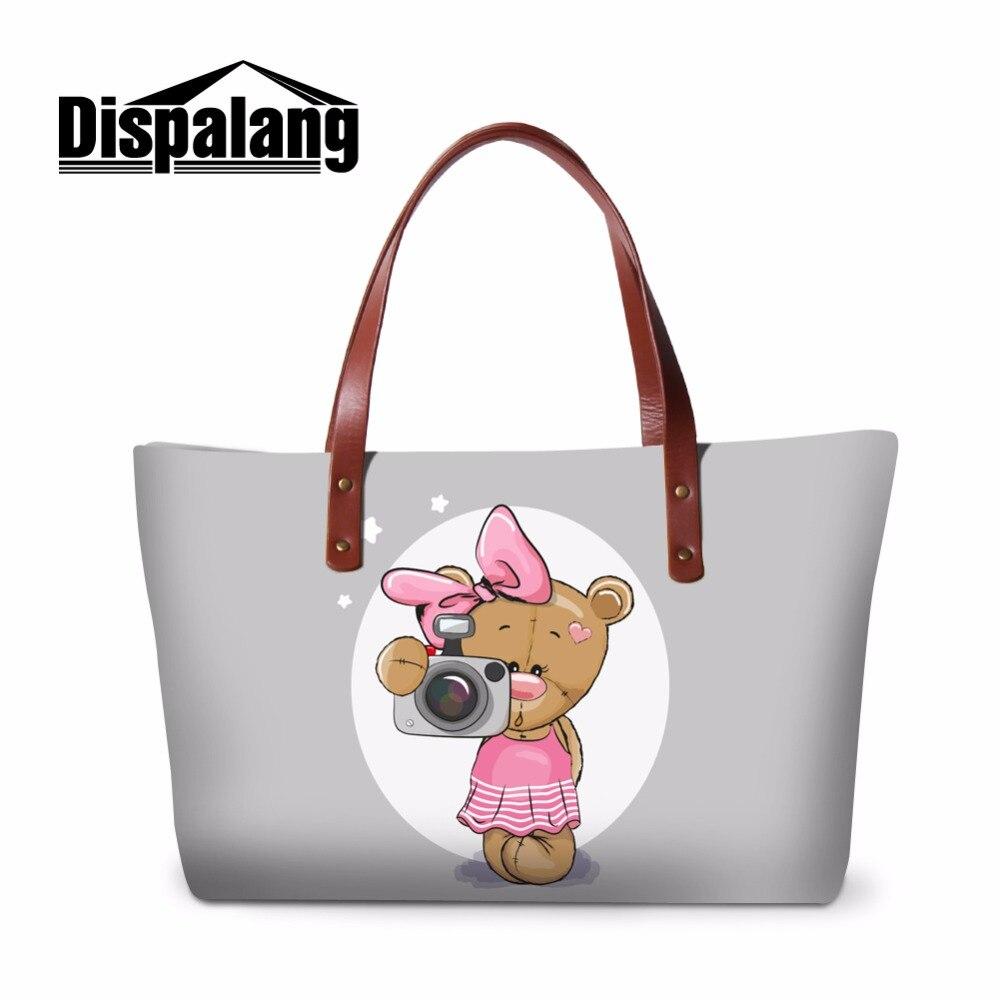 90bba37ea Dispalang Designer Stylish Ladies Large Tote Bag Women Over Shoulder Bag  New Summer Beach Bag For Girls Portable Hand Bag