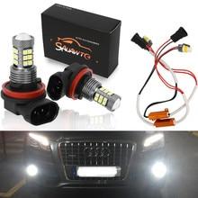 Светодиодный фонарь лампа для автомобиля вождения Drl светодиодные лампы на Габаритные огни для Honda CR-Z CRZ CR Z 2012 Insight 2013 H11