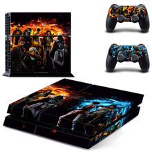 Game Collection PS4 Sticker For Playstation 4+ 2Pcs Controller Skin Console Stickers PS4 Protective Skin ZY-0019