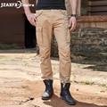Brand New Men Casual Pants Khaki Cargo Pants Top Quality hip hop Pocket pant Plus Size 100% Cotton Long Trousers For men