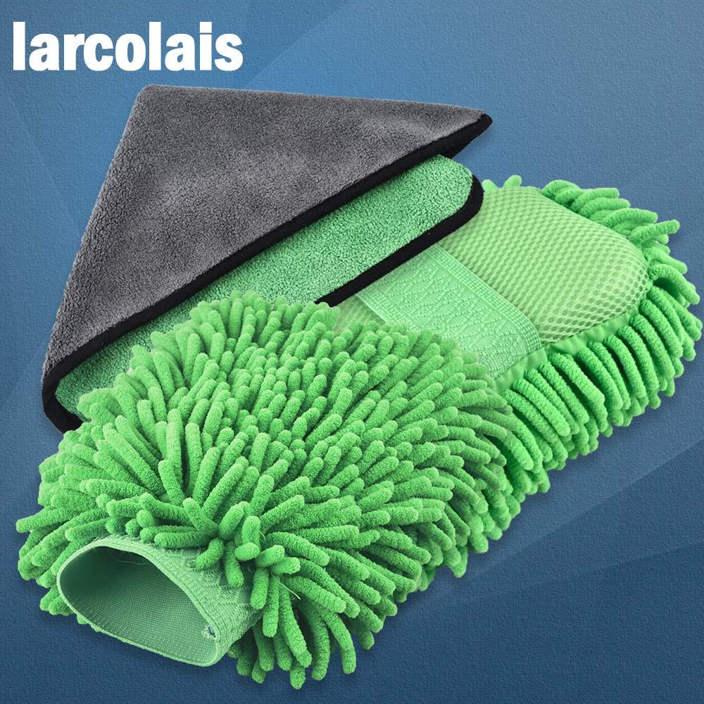 Super Car Wash Glove Car Hand Soft Towel Car Cleaning
